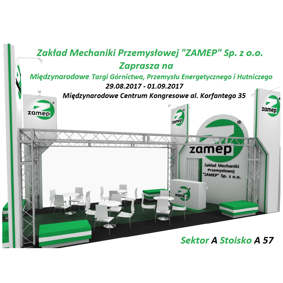 ZAMEP INVITES TO THE INTERNATIONAL FAIR OF MINING, POWER INDUSTRY AND METALLURGY KATOWICE 2019